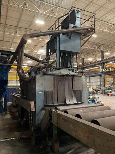 Used 2002 PANGBORN STRUCTURAL AND PLATE BLAST MACHINE
