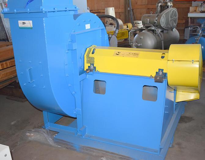 Used  75HP paddle wheel fan,  material handling blower