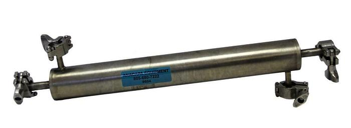 """Used Alfa Laval Tri-Clover Sanitary Heat Exchanger Pipe Stainless Steel 1"""" (8604)W"""