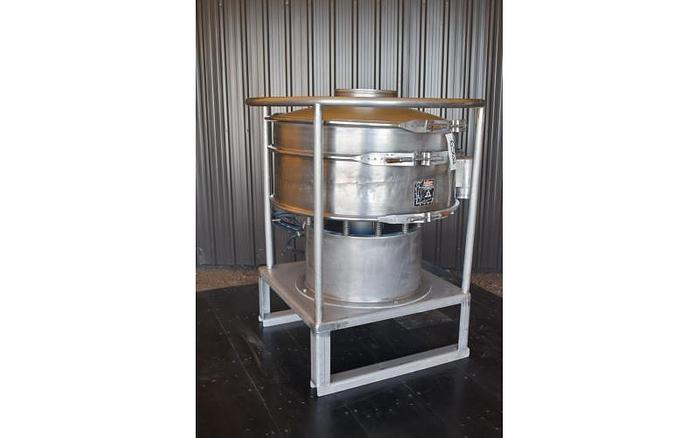 "USED KASON SCREEN, 30"" DIAMETER, ALL STAINLESS STEEL"