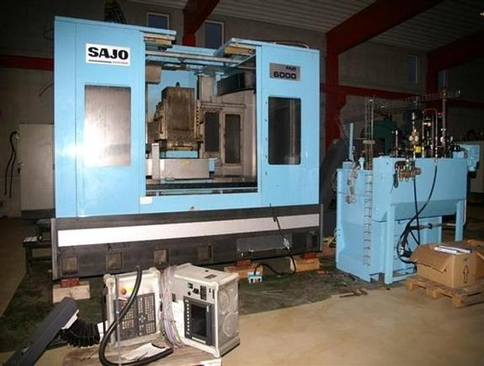 SAJO HMC 6000 Horizontal Machining Centers