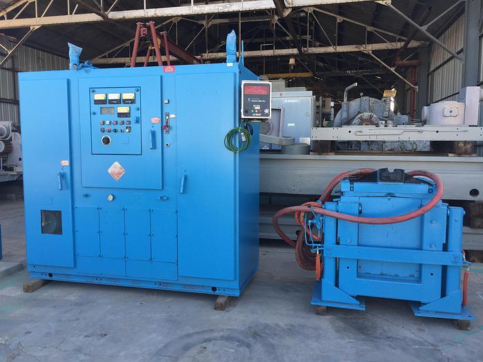 Used 300 KW Pillar Induction Melting System