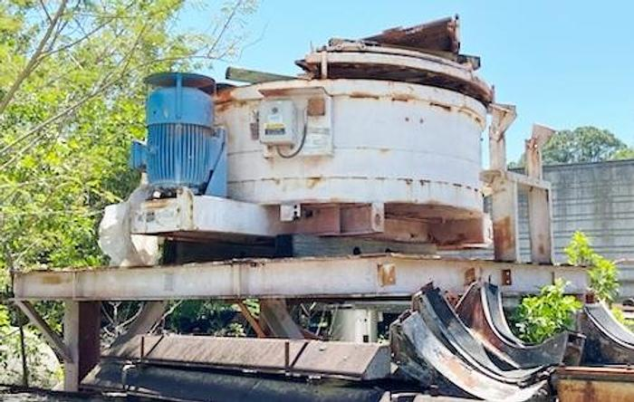 Used Mixer Systems 3 Compartment Precast Batch Plant