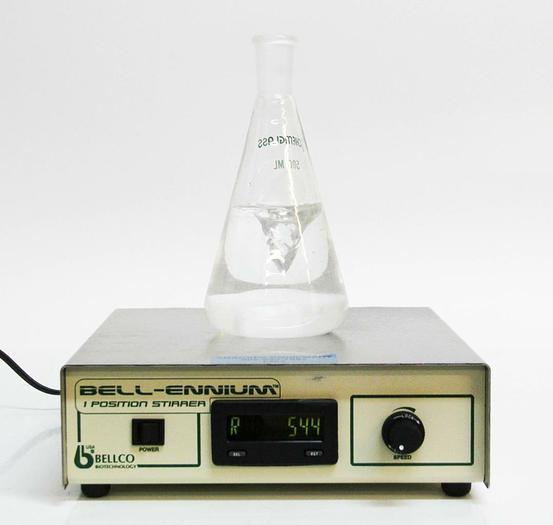 Used Bellco 7785-D1008 Bell-Ennium 1 Position Stirrer Magnetic Stirrer USED (6263) R