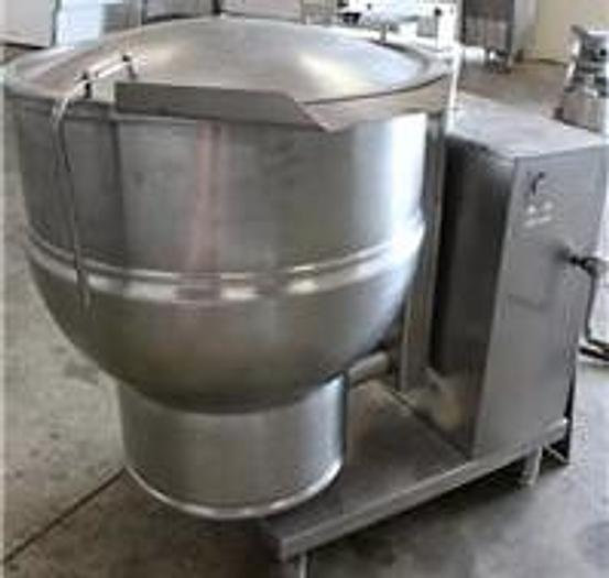 Refurbished 40 GALLON GROEN SELF CONTAINED ELECTRIC TILTING KETTLE - 50 PSI JACKET