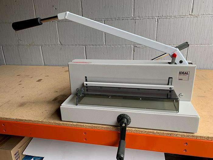 Refurbished Used IDEAL 3905 Tabletop Manual Paper Guillotine Cutter