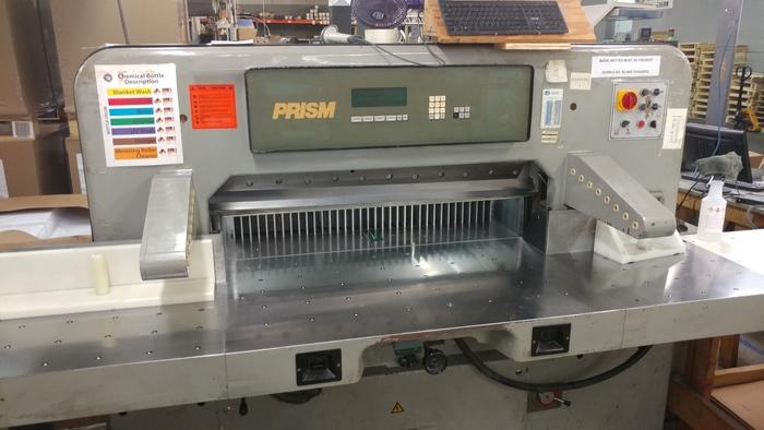 """1999 Prism 45"""" Paper Cutter"""