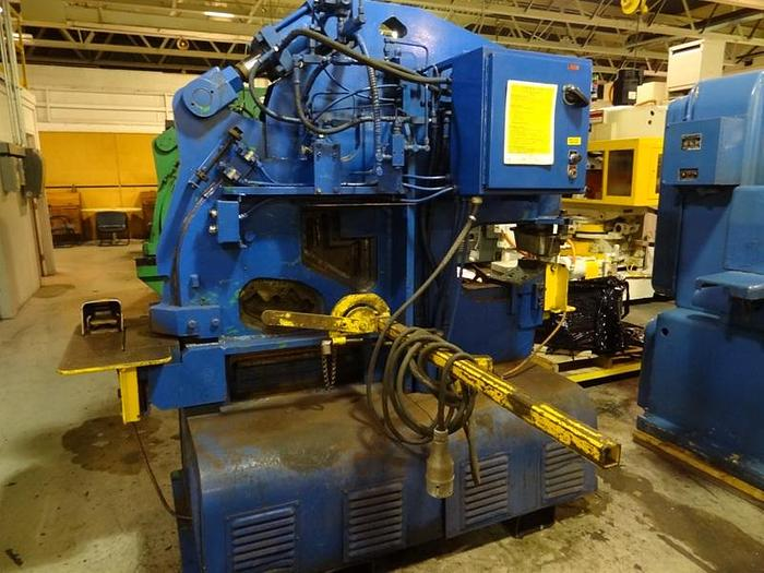Used HILL ACME 4A 70 TON UNIVERSAL HYDRAULIC IRONWORKER