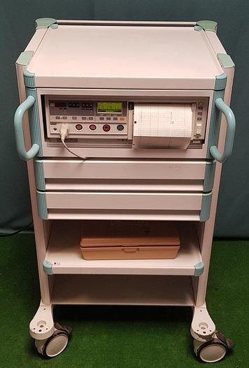 Gebraucht Philips HP Workstation mit M1360B Fetalmonitor und Zubehör