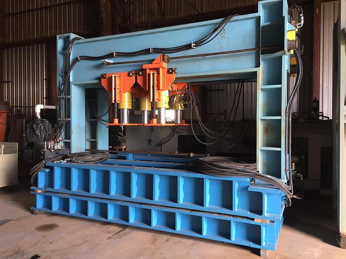 400 Ton Easom / Enerpac  Hyd. Straightening / Dishing Press