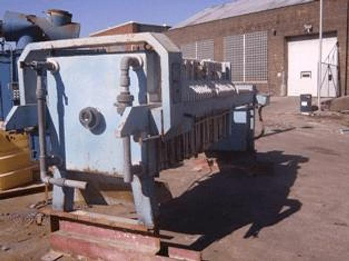 Used 33 CU. FT. STAR SYSTEMS FILTER PRESS – POLYPRO. – 1000 MM