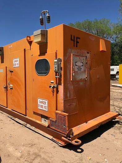 Used HB18252 switch box 25,000 volt mine gear by Atkinson