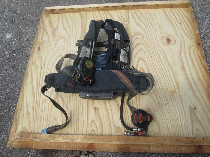 Used Scott NXG2 4.5 SCBA Harness
