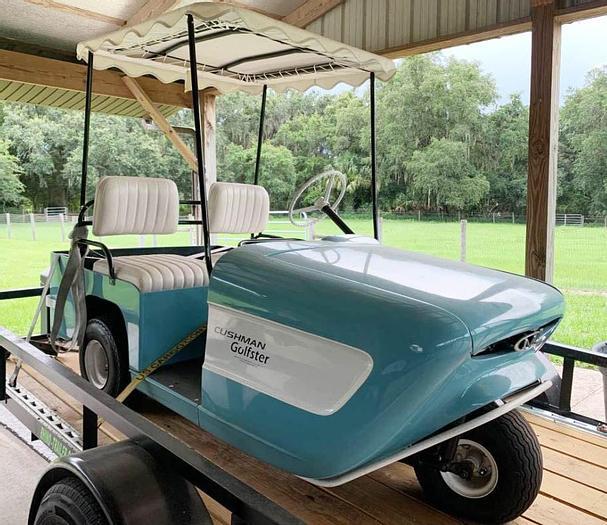Used Cushman Golfster