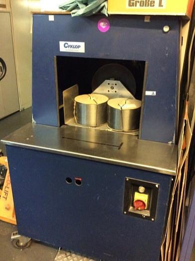 Gebraucht CYCLOP Umreifungsmaschine Rotant 500 N, 1992
