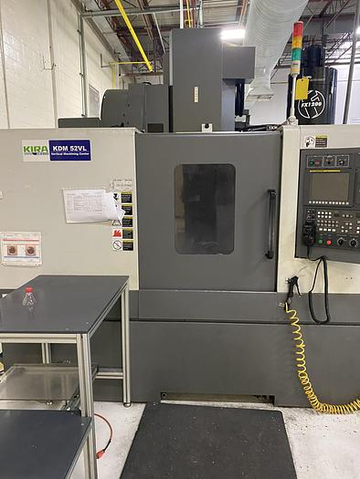 2016 KIRA KDM 52VL CNC VERTICAL MACHINING CENTER
