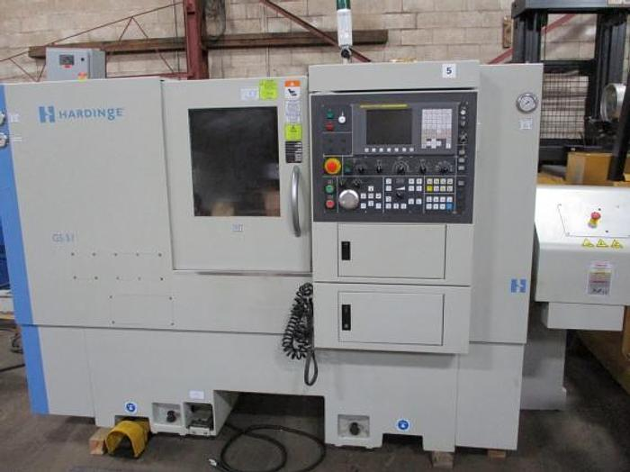 Used HARDINGE, 2013, GS-51MS, CNC LATHE