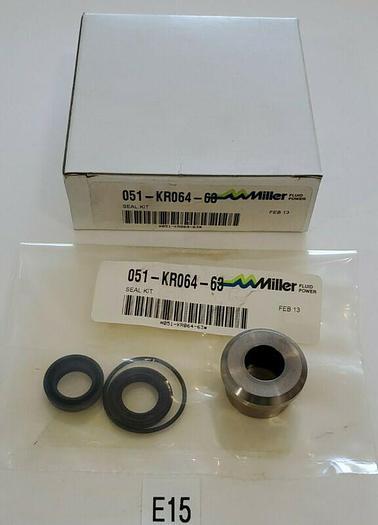 *NEW IN BOX* Miller Fluid Power 051-KR064-63 Seal Kit + Warranty!
