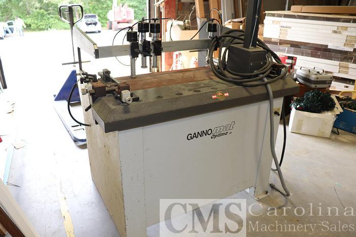 Used 2006 Gannomat Optima 25 Boring Machine