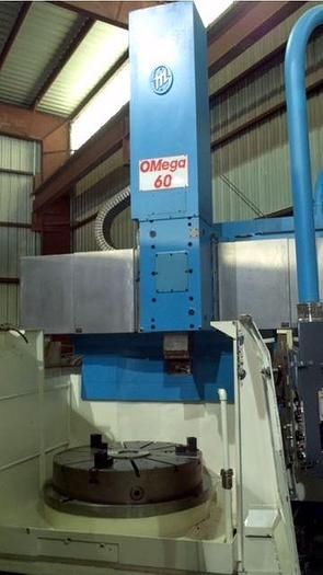 Used OMEGA 60, CNC VERTICAL TURNING LATHE