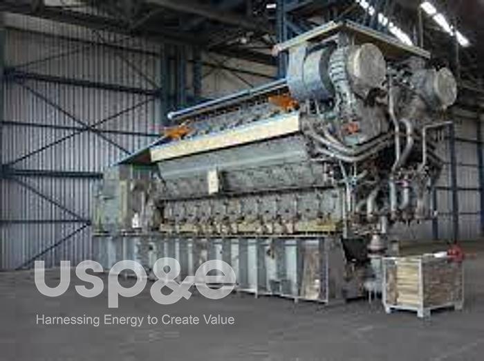 7 MW New MAN 18V32/40 HFO Generator