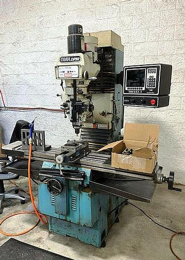 Used 1998  Southwest, TRAK-DPM, 3-Axis CNC Knee Mill, 1998 TRACK-DPM 3 AXIS