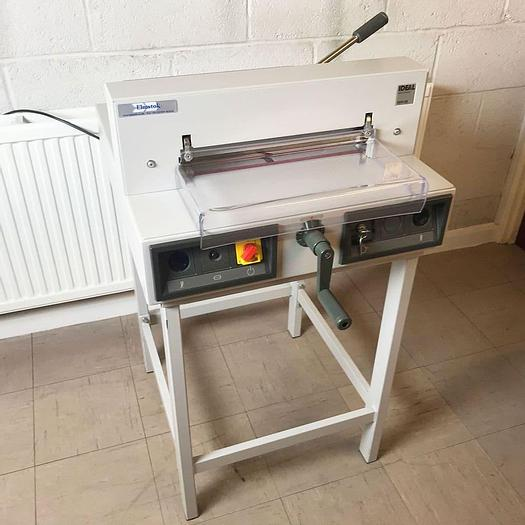Used Used IDEAL 3915-95 Electric Office Desktop Paper Guillotine With Optional Stand Guillotine Only