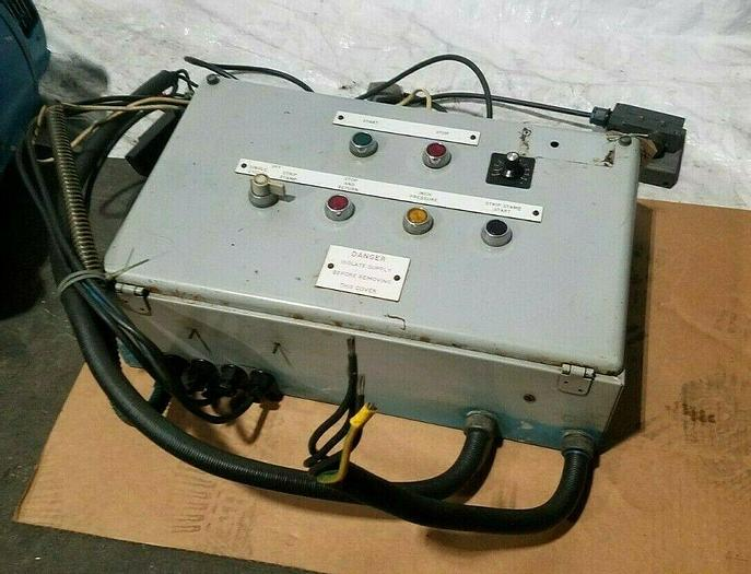 Used Electronic Control Box with relays and other micro switches