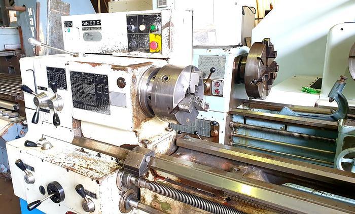 TOS SN50C Lathe Machine