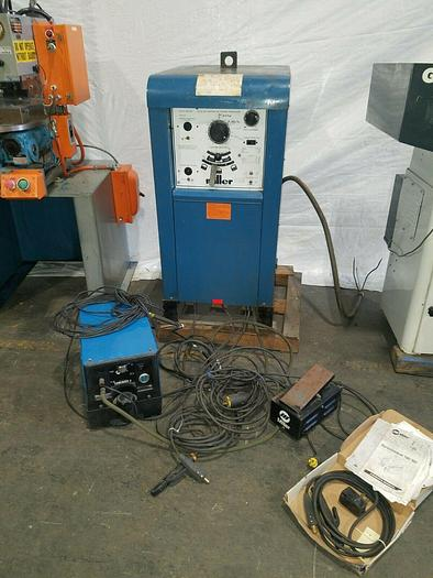 Used Miller Syncrowave 180 SD Tig Welder with Coolmate Chiller & Attachments