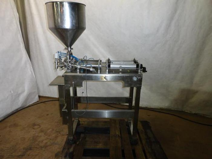 Used Stainless Steel Dual Piston Filler