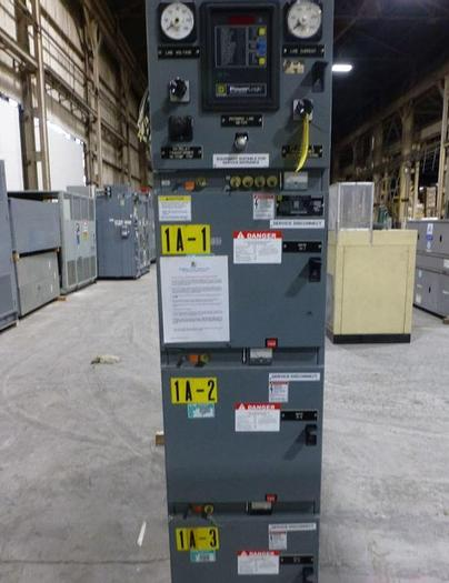 Used SQUARE D POWER ZONE 111 SWITCHGEAR