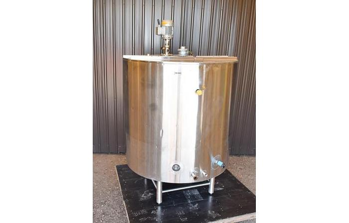 USED 500 GALLON TANK, STAINLESS STEEL, INSULATED