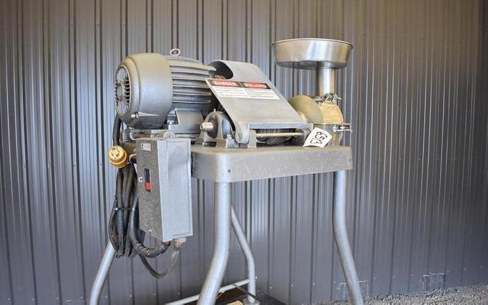 USED FITZPATRICK JT HOMOLOID MILL, STAINLESS STEEL