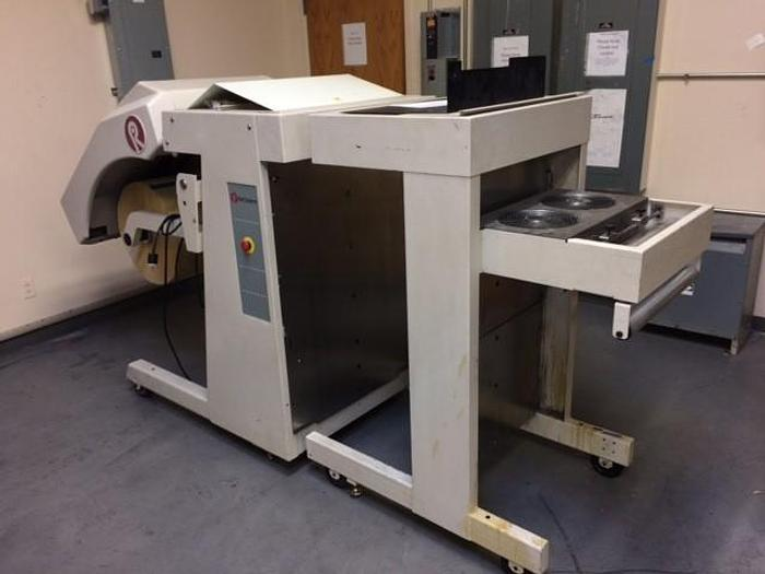 """Used 35"""" ROLL SYSTEMS NON-STOP PRINTING UNWIND STAND MODEL 800190"""