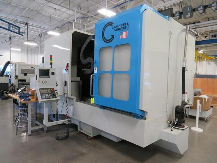 Used CAMPBELL MODEL 1000C500 MULTI AXIS VERTICAL CYLINDRICAL GRINDING MACHINE