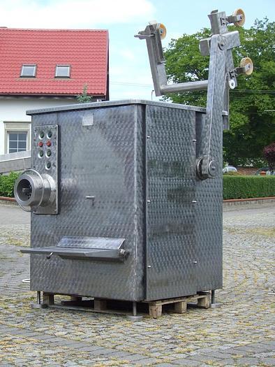 Używane Wilk kątowy z samozaładunkiem typ W160/200EZ w całości wykonany ze stali nierdzewnej