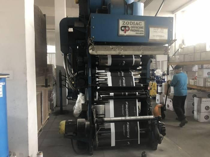Used Schiavi Zodiac 820 mm, 6 colors flexo printing machine (Unkn.)