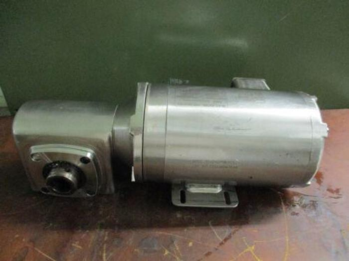 BALDOR ELECTRIC CSSEWDM3546 WASHDOWN AC MOTOR W/BOSTON GEAR