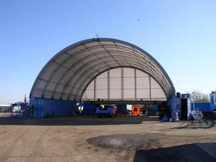 Used 42' x 260' Coverall Fabric Shelter