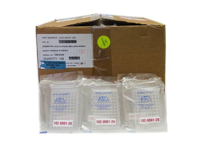 Hampton Research HR3-163 ARI 102-0001-20, 96 Well Intelli-Plate Lot of 106 (8209