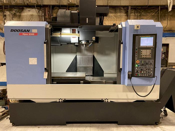 Used 2011 DOOSAN MYNX 6500 VERTICAL MACHINEING CENTER