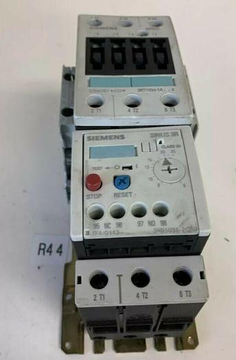 Used Siemens 3Rt1034-1A Contactor W/ 3RB1035-2OBO Fast Shipping!~Warr