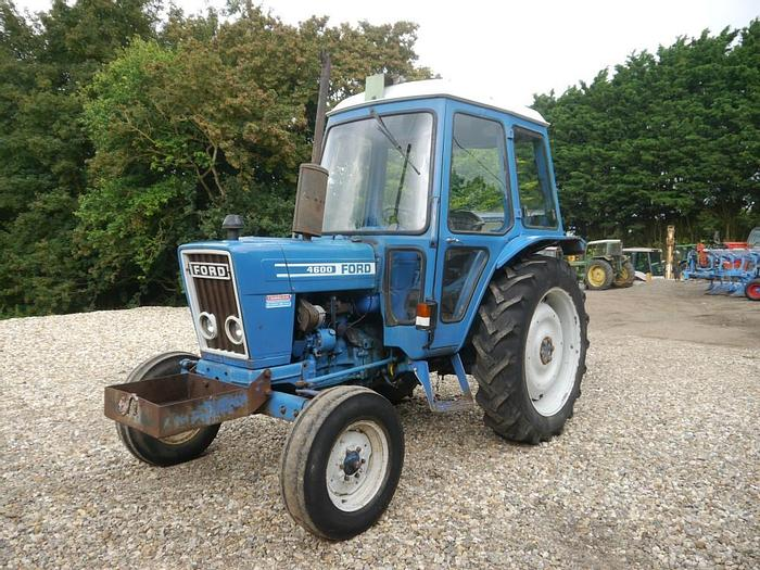 Used Ford 4600 2wd Tractor
