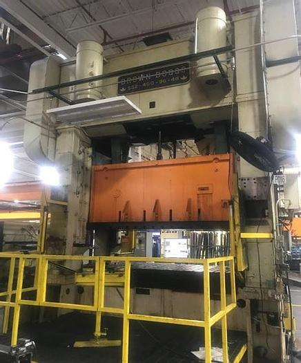 Used 400 ton Brown & Boggs SSDC Press