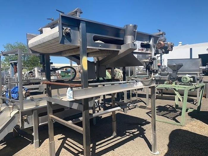 Used Valley Welding Machine Works Pit Removal Sorting Table