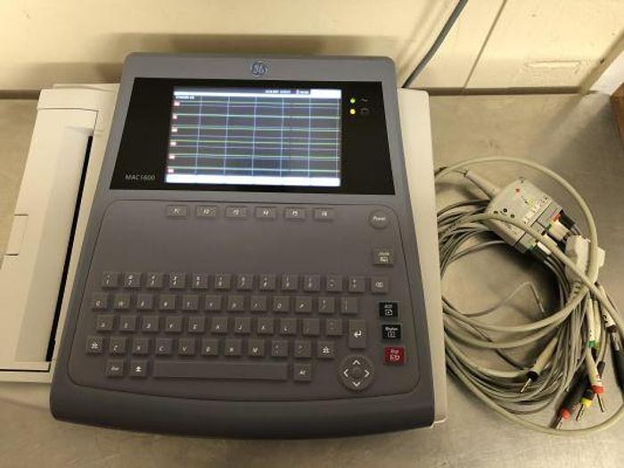 Used Electrocardiograph GE Mac 1600