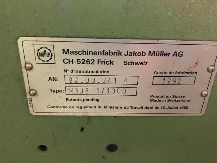 4 Mueller Looms MBJ2 Label Looms