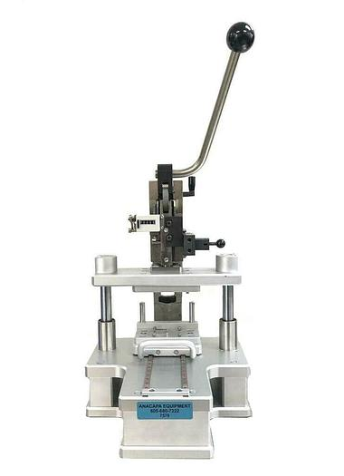 Used Gechter 2.5 HKPV Manual Toggle Press & Custom Konstruktionsbüro Bredl Jig (7578)