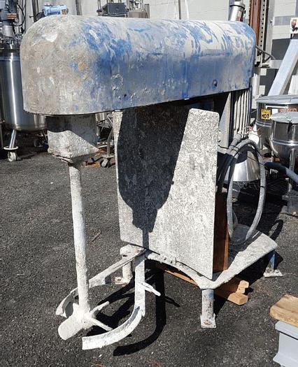 Used 10 HP SHAR MIXER – S/S – FLOOR MOUNT